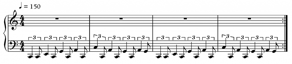 Swanee River Boogie Woogie Piano Left Hand